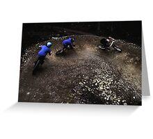 Forest of Dean MTB Greeting Card