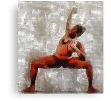 Dancer by Mary Bassett Canvas Print