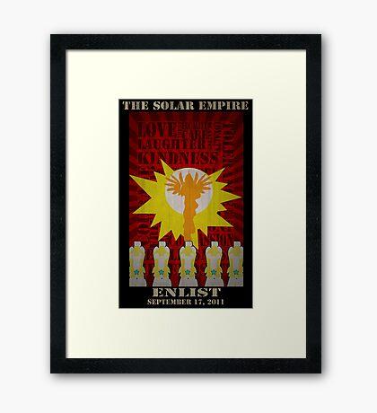 My Little Pony Solar Empire  Framed Print