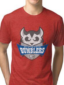 The Mid-World Bumblers Tri-blend T-Shirt