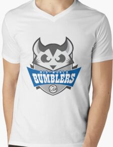 The Mid-World Bumblers Mens V-Neck T-Shirt