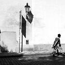 Walking by by Manuel Gonçalves