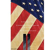 September 11th Tribute Photographic Print