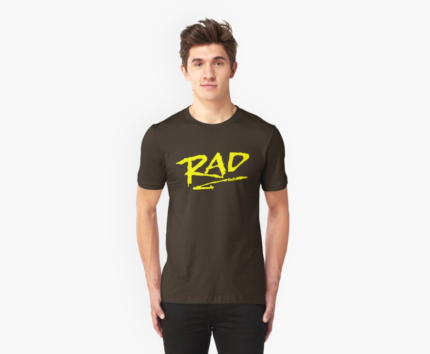 Rad BMX 80's T-Shirt by defunkt