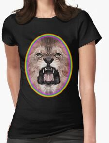 Zion Lion Tee Womens Fitted T-Shirt
