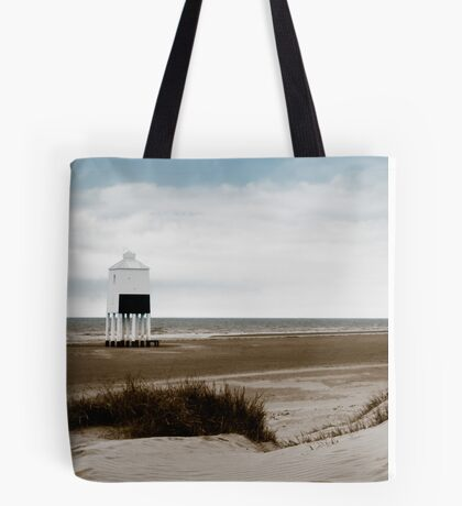 The Lighthouse at Burnham on Sea Tote Bag