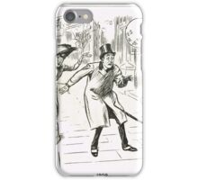 MP & Votes for Women Punch cartoon 1908 iPhone Case/Skin