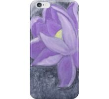 Purple Lotus Flower iPhone Case/Skin