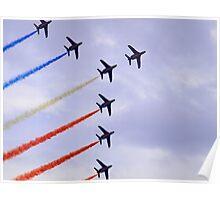 Patrouille de France in Flight Poster
