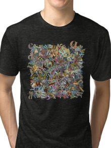 Letters Tri-blend T-Shirt