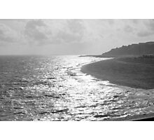 The Wrinkled Sea Photographic Print
