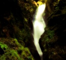 Aira Force Waterfall in the Lake District Sticker