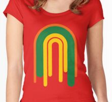 Tall Rainbow Women's Fitted Scoop T-Shirt