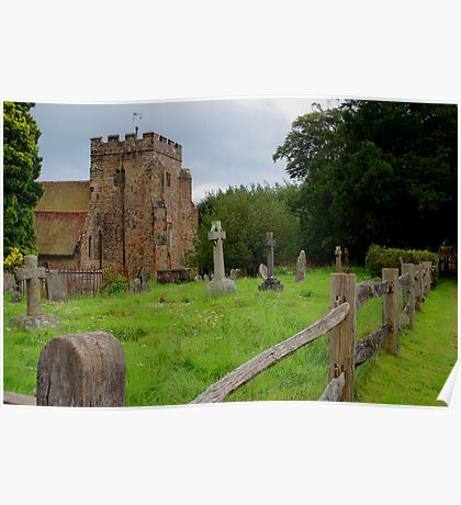 St Thomas Becket Church, Brightling Poster