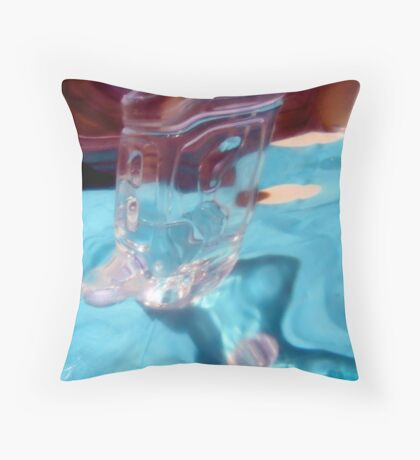 Abstract 1985 Throw Pillow