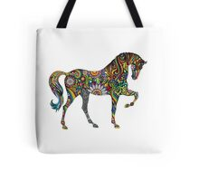 A Horse of Many Colours Tote Bag