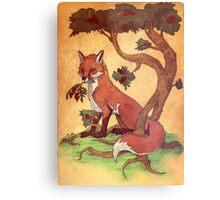 Commission: Red Fox Metal Print