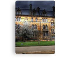 The Suns Ray  - Christ Church College Oxford Canvas Print