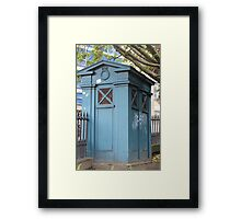 Old Fasioned Police Box Framed Print