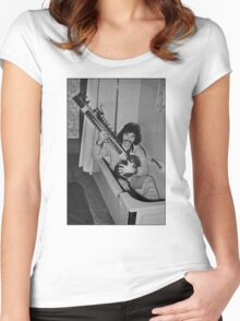 Cafe Spice Special  Women's Fitted Scoop T-Shirt