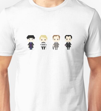 The Baker Street Gang- Version 2 Unisex T-Shirt