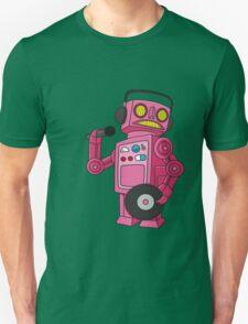 hey robot dj Unisex T-Shirt