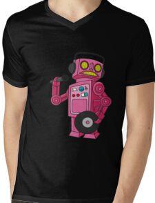 hey robot dj Mens V-Neck T-Shirt