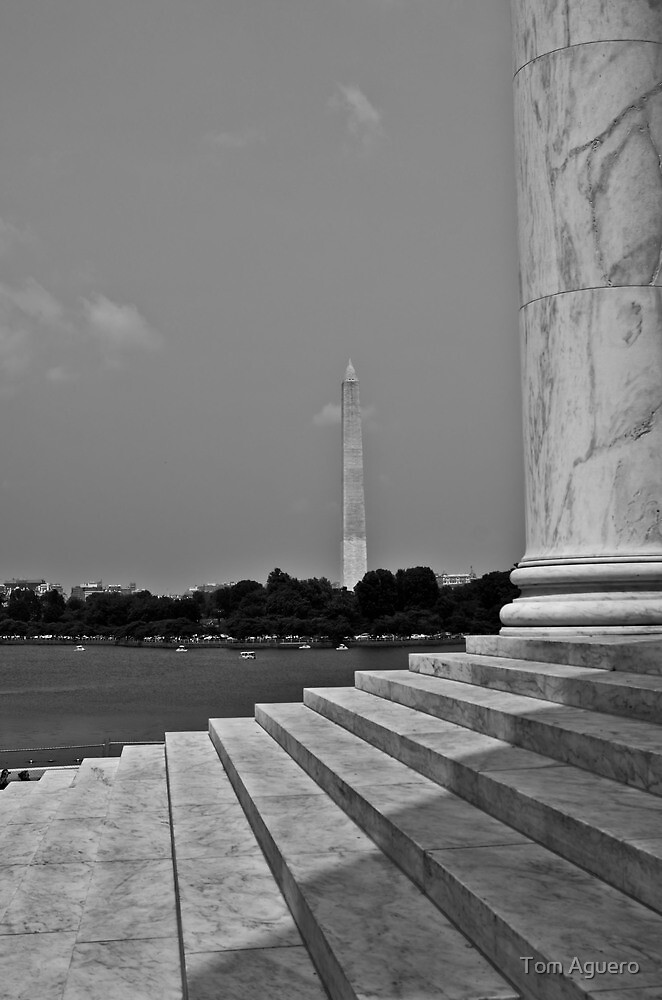 Jefferson's view of Washington. by Tom Aguero