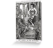Votes for Women Punch cartoon 1908 Greeting Card