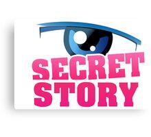 Secret story Canvas Print