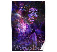 Hendrix Woodstock Love2 Poster