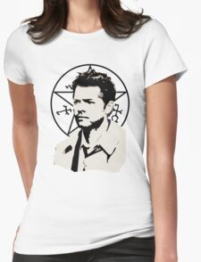 Brooding Angel. Womens Fitted T-Shirt