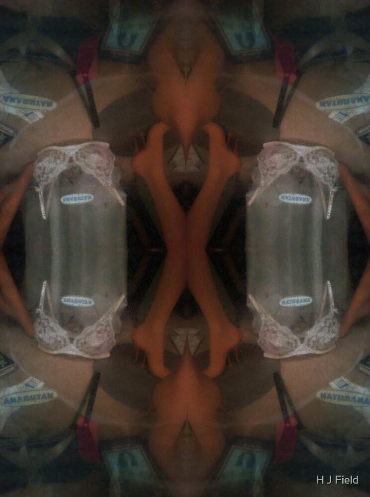 spooky bra pattern by H J Field
