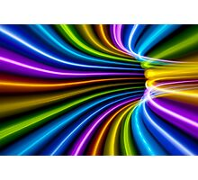 Rainbow Tunnel Bend Photographic Print