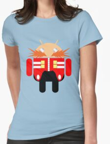 Dr. Droidbotnik Womens Fitted T-Shirt