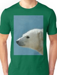 White Polar Bear Unisex T-Shirt