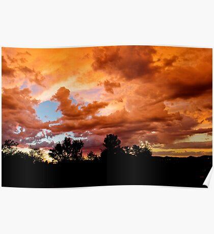 Prescott Arizona Sunset Poster