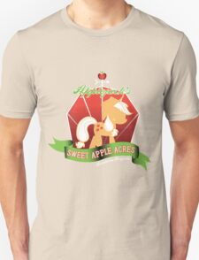 Applejack's Sweet Apple Acres Unisex T-Shirt