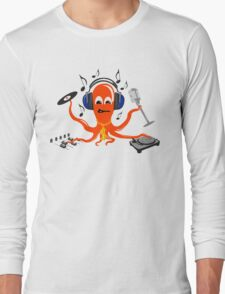 Music squid Long Sleeve T-Shirt