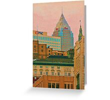 Decades Of Architecture Greeting Card