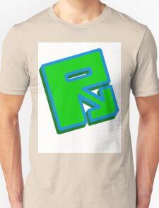 "Rusty ""Green Blue"" T-Shirt"