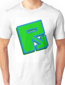 """Rusty """"Green Blue"""" Unisex T-Shirt"""
