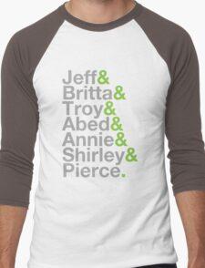 Community Jetset Men's Baseball ¾ T-Shirt