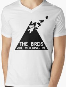 Mocking Birds Mens V-Neck T-Shirt
