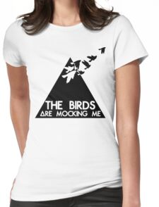Mocking Birds Womens Fitted T-Shirt