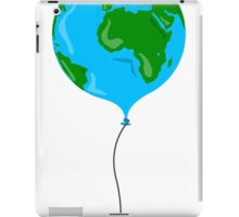 Earth as balloon iPad Case/Skin