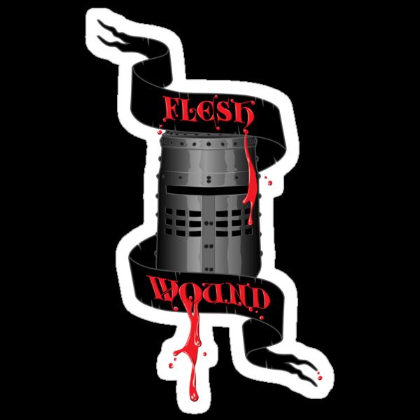 Flesh Wound by D4N13L