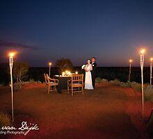 Fine dining wedding Longitude 131 Resort by idphotography