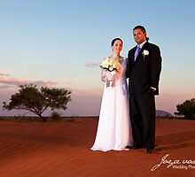 Red dune central Australia by idphotography