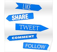 Social Media Directory Poster